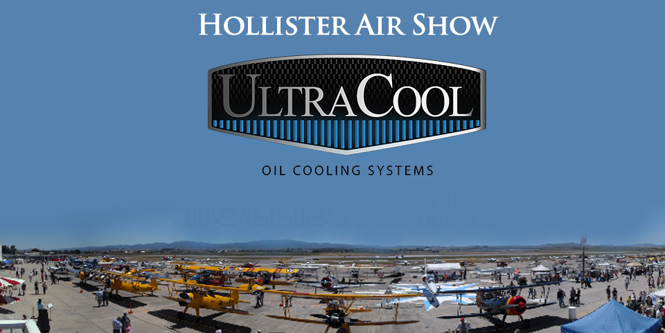 ULTRACOOL SPONSORS THE HOLLISTER AIRSHOW
