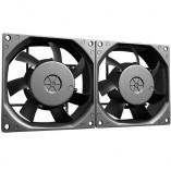 reefer oil cooler dual fans