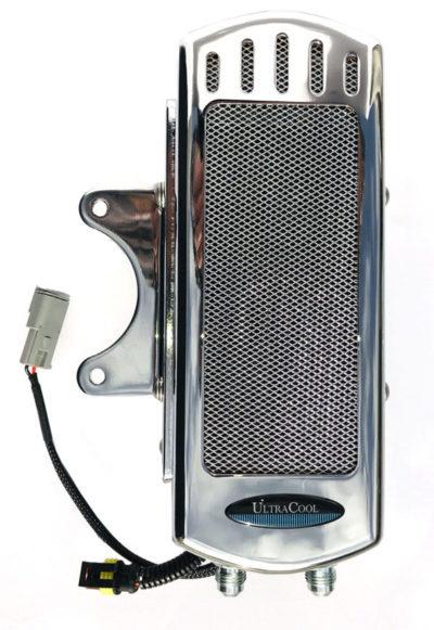 The Reefer Harley Davidson Dyna Oil Cooler Flh Oil Cooler